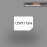 102mm x 73mm Label