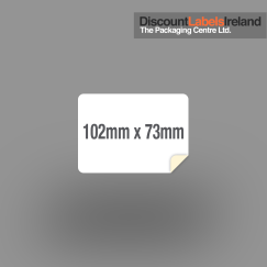 102mm x 73mm Label