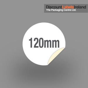 120mm Circular Label