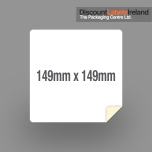 149mm x 149mm Label