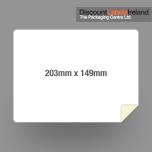 203mm 148mm Label