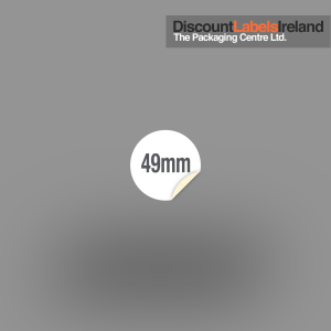 49mm Circular Label