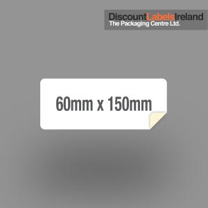 60mm x 150mm Label