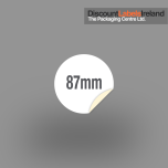 87mm Circular Label