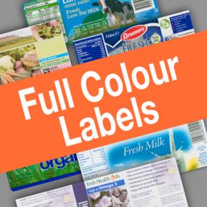Full Colour Labels