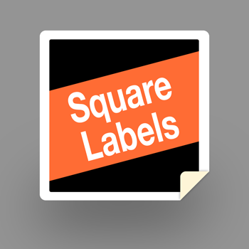 Square-labels