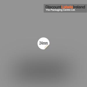 24mm Circular Label